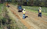 Ремонт  сельской дороги методом стабилизации грунта полимером   (90)