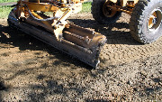 Ремонт  сельской дороги методом стабилизации грунта полимером   (82)