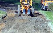 Ремонт  сельской дороги методом стабилизации грунта полимером   (77)