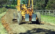 Ремонт  сельской дороги методом стабилизации грунта полимером   (81)