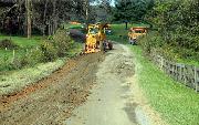 Ремонт  сельской дороги методом стабилизации грунта полимером   (60)