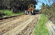 Ремонт  сельской дороги методом стабилизации грунта полимером   (95)