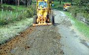 Ремонт  сельской дороги методом стабилизации грунта полимером   (57)