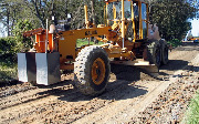 Ремонт  сельской дороги методом стабилизации грунта полимером   (96)