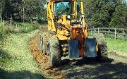 Ремонт  сельской дороги методом стабилизации грунта полимером   (73)