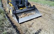 Ремонт  сельской дороги методом стабилизации грунта полимером   (93)