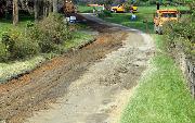 Ремонт  сельской дороги методом стабилизации грунта полимером   (61)