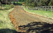 Ремонт  сельской дороги методом стабилизации грунта полимером   (74)