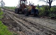 Ремонт  сельской дороги методом стабилизации грунта полимером   (51)