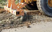 Ремонт  сельской дороги методом стабилизации грунта полимером   (56)