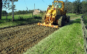 Ремонт  сельской дороги методом стабилизации грунта полимером   (67)