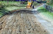 Ремонт  сельской дороги методом стабилизации грунта полимером   (65)