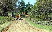 Ремонт  сельской дороги методом стабилизации грунта полимером   (94)