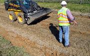 Ремонт  сельской дороги методом стабилизации грунта полимером   (91)
