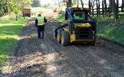 Ремонт  сельской дороги методом стабилизации грунта полимером   (86)